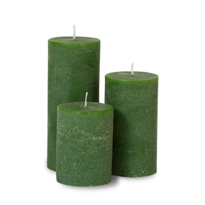 Bougies unies Weizenkorn 13 cm, Ø 8 cm