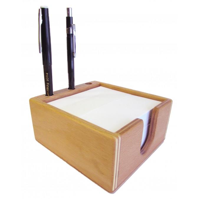 Zettelbox Holz