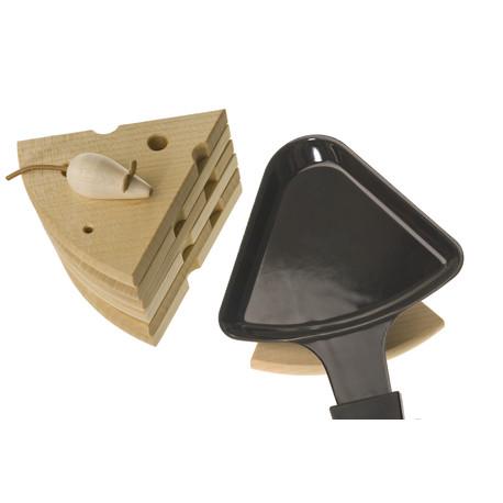 Raclettepfännli-Untersatz im Käse-Design