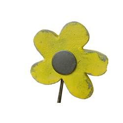 Fleur en béton