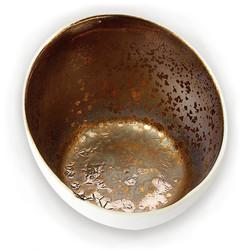 Lichterschale Bronze (rund)