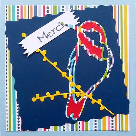 Karten «Festliches Vogeltrio» (3er-Set)