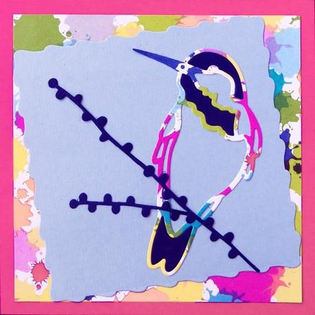 Cartes «Trio festif d'oiseaux»