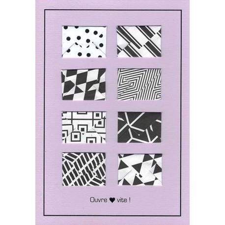 Karten «schnell öffnen!» (4er-Set)