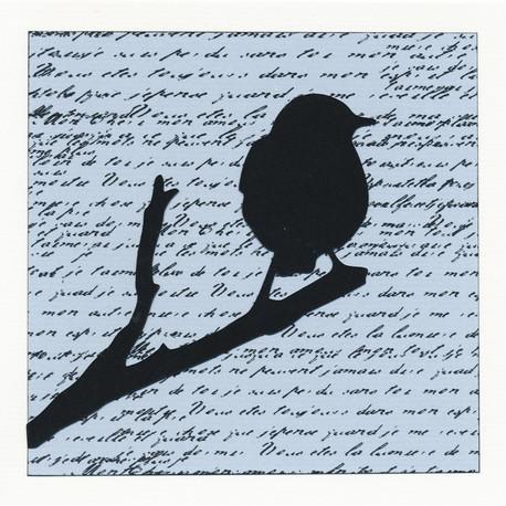 Cartes «Oiseaux perchés»