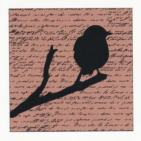 Karten «Vögel» (4er-Set)
