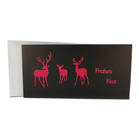 Cartes de Noël (4 unités)