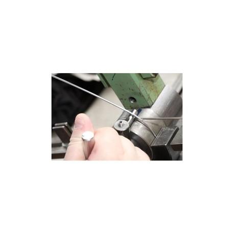 Fouet avec manche en aluminium