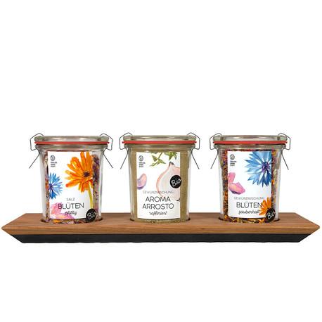 Geschenkset Salz in 3 Aromen