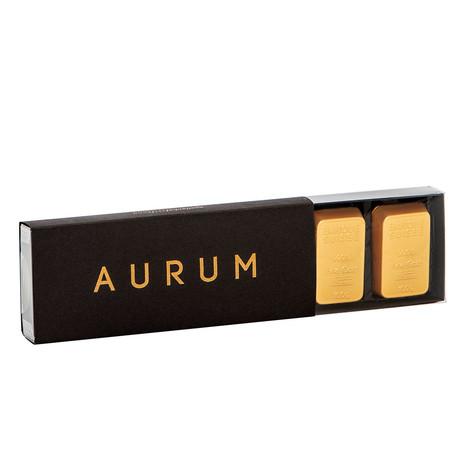 Barres d'or en chocolat AURUM (boîte de 6)