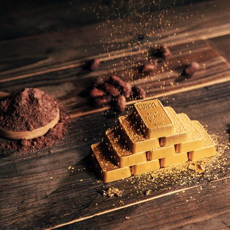 Schokolade-Goldbarren AURUM (6er-Box)