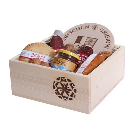 Geschenkset Calanda-Box