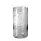 4 verres «PETALES DE TULIPE»