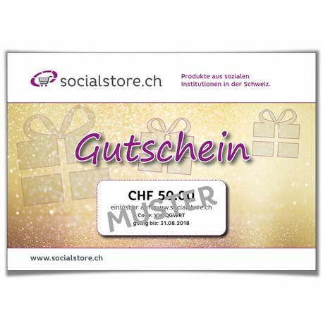 Bon cadeau Socialstore