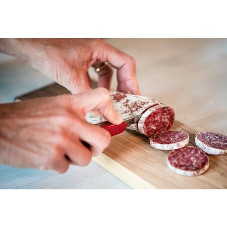 Picknick-Brettli mit Messer