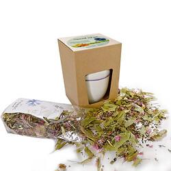 Fyrabig-Tee im Becher