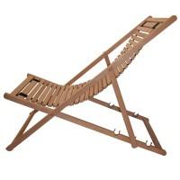 Chaise longue bois de hêtre
